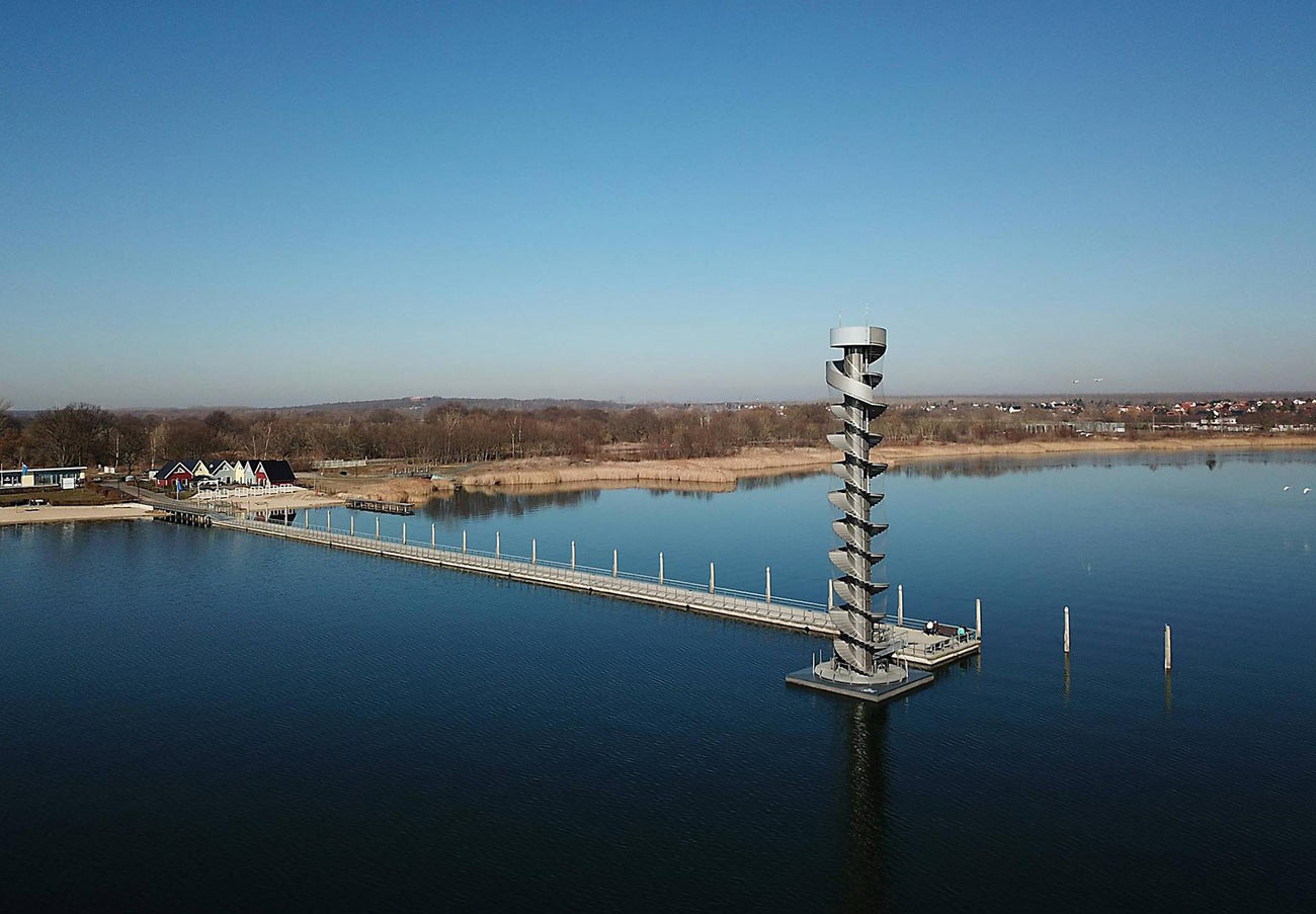 Flytande gångbro